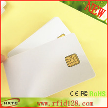 200PCS/Lot  ISO7816  Contact Smart  IC Blank  Chip Card #FM4428 With 1K Bytes Memory Printable By Zebra Plastic Card Printer