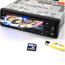 4 Channels Multi-Functional Car CD/DVD MP3 Media Player Radio/Audio Bluetooth Music Play Bluetooth Hand-Free Function