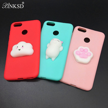 Buy XINKSD 3D Squishy Case iPhone X 8 5 6 6s 7 7 Plus Lovely Cute Funny Cat Soft TPU Cover Cases iPhone 5 5S SE 6 6s 7Plus for $1.75 in AliExpress store