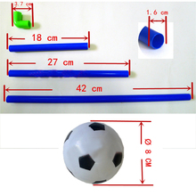 Mini Football Goal Outdoor Toys For Kids Parent-child Interaction Soccer Sport Games Portable Removable Funny Toys For Children
