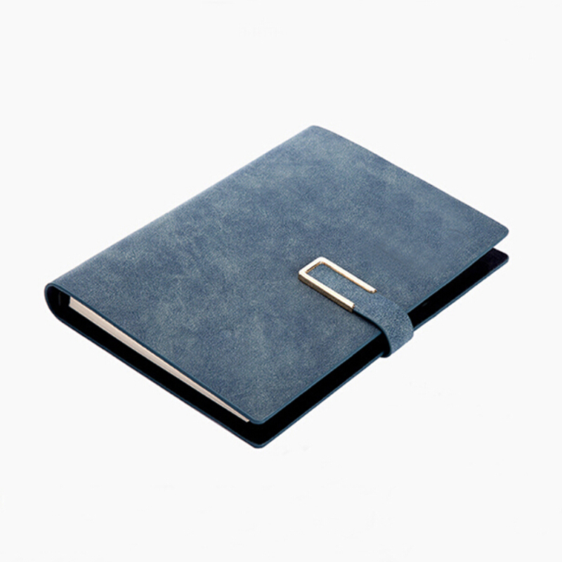 A5 Stationery PU Leather Loose-leaf Spiral Notebook Business 6 Hole High-grade Creative Retro Diary Notebook<br>