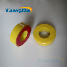 Tangda Iron powder cores T131-8 OD*ID*HT 33.5*16*11.5 mm 52.5nH/N2 35uo Iron dust core Ferrite Toroid Core toroidal yellow red