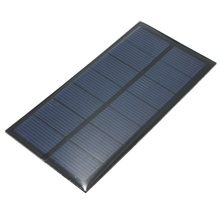 Top Quality 3.5V 250mAh 0.8W Polycrystalline Silicon Mini Solar Panel Module Cell  For Charger DC Battery DIY Kit 120x60mm
