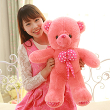 Free shipping!3color Filled Plush toys large size 60cm teddy toy bear big embrace bear doll lovers birthday gifts,Kids Toys