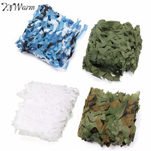 KiWarm 2x2m Outdoor Jungle Desert Woodlands Camo Net Hunting Camping Military Camouflage Net Games Hide Camouflage Mesh