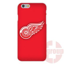 Soft TPU Silicon Retail New Fashion On Detroit Red Wings Nhl Team Logo Ice Hockey For Sony Xperia M2 M4 M5 C3 C4 C5 X