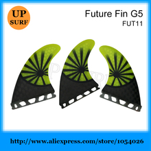 Future G5 Fins Black Carbon Future Fin Quilhas Surfboard Fins New Design Winter Surfing Fins