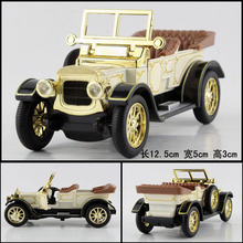 Super 12.5cm delicate Classical convertible bubble car simulation collect model alloy WARRIOR car home decoration gift toy 1pc