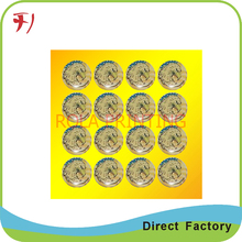 epoxy label domed sticker crystal label