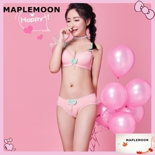 362 pink new cute push up lace side of the collection to gather together sexy girl underwear young women Bra & Brief Sets(China)