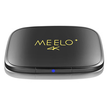 MEELO+4K Android 6.01 TV Box Amlogic S905X Quad Core 1G 8G 2.4GHz WiFi Set Top Box Support H.265 3D KD 17.0 Media Player Mini PC