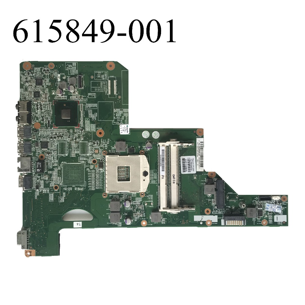 Excellent For HP CQ62 G62 CQ72 G72 Laptop Motherboard HM55 DDR3 615849-001 100% working
