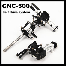 Align 500 CNC Metal Main Rotor Head set + Tail Upgrade Unassembled(Belt drive system) Trex Align 500 RC Helicopter Parts