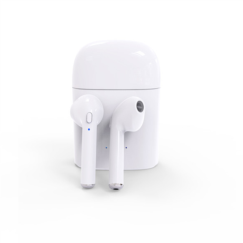 Mini TWS I7S Earbuds Ture Wireless Bluetooth Double Earphones Twins Earpieces Stereo Music Headset For Apple iPhone 6 7 8 Plus<br>