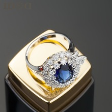 boutique suit ring, the ultimate luxury SWA crystal , elegant butterfly sapphire ring influx of women