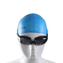 Hot Sale Waterproof Anti Fog UV Men Women Professional Colored Lenses Diving Swimming Glasse Eyewear Swim goggles Gafas Natacion(China)