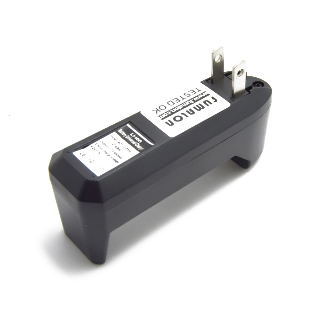 3.7V 18650 Battery Charger Wall Travel Single 18650 Charger US Plug For 3.7V CR123A 14500 Li-ion Rechargeable Battery