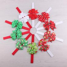 Cool! Christmas Headwear Girls Hair Band Bow Headbands Flower Hair Accessories hair pins and clips 2017 Vicky