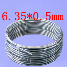 OD6.35mm,6.35*0.5mm,Stainless steel gas line pipe,stainless steel tube,stainless steel coil pipe