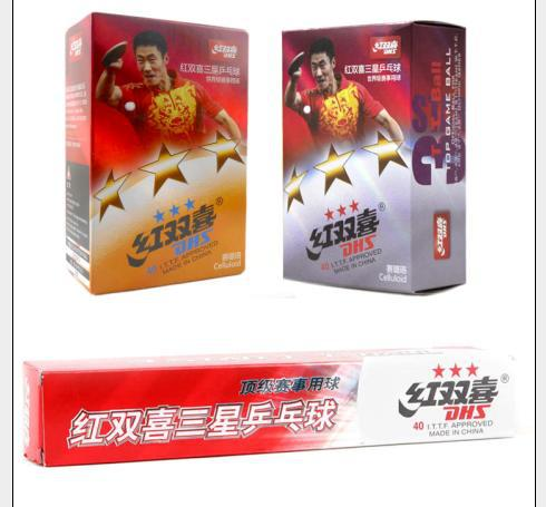 720x DHS 3-star 3 star 3star 40mm Table Tennis Balls for PingPong 2015 Factory At a loss Direct Selling Genuine(China (Mainland))