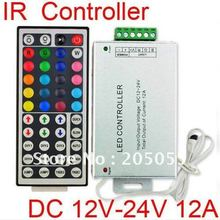 IR remote 44 Keys controller for LED RGB Strip Light 12A 12V-24V DC