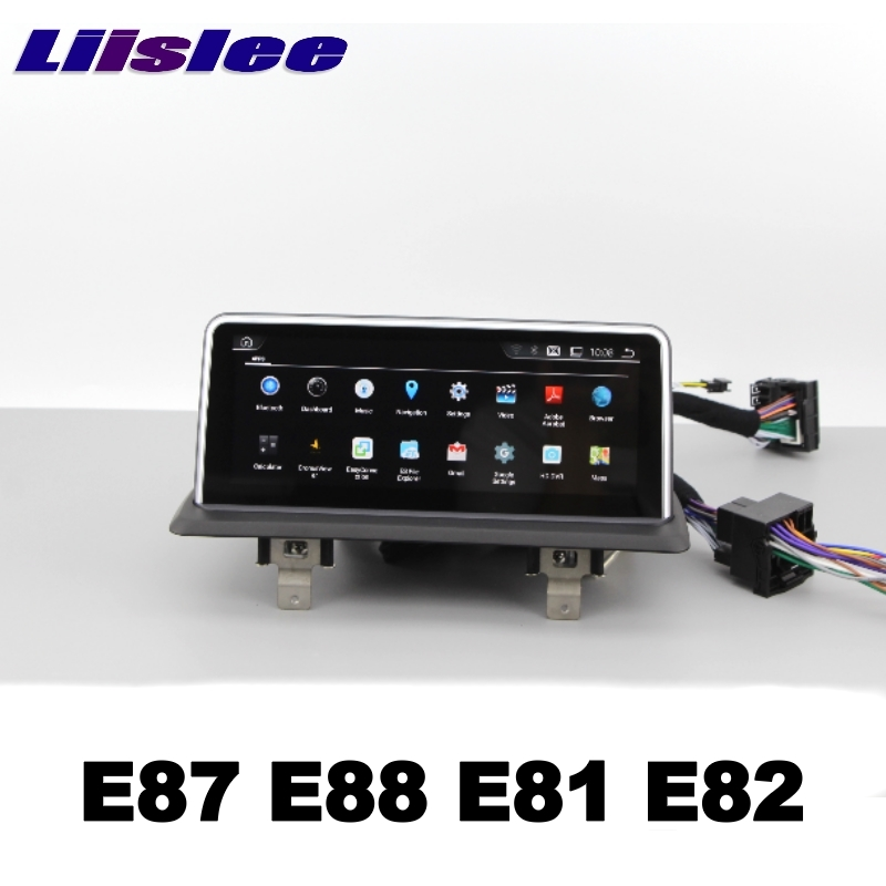 For BMW 1 E87 E88 E81 E82 2004~2013 LiisLee Car Multimedia GPS Audio Hi-Fi Radio Stereo Original Style For NBT Navigation NAVI113