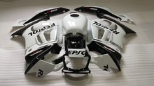 Custom REPSOL white black Fairing kit for HONDA CBR600F3 97 98 CBR 600F3 1997 1998 CBR600 Fairings set +gifts VX52