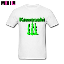 Man's Kawasaki Motorcycle Logo Tshirts XXXL Design Your Own T Shirt  Short-Sleeve tshirt
