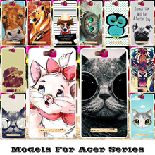 Silicon Phone Cases For Acer Liquid Z530 Z530S E700 Z500 Z520 Z630 Z 630 Z630S Z330 Z320 M330 Zest Z525 Z528 Housing Covers Bags