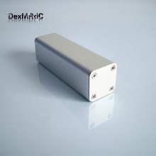 Aluminum alloy shell electrical project enclosure for battery small power DIY 32*32*100mm
