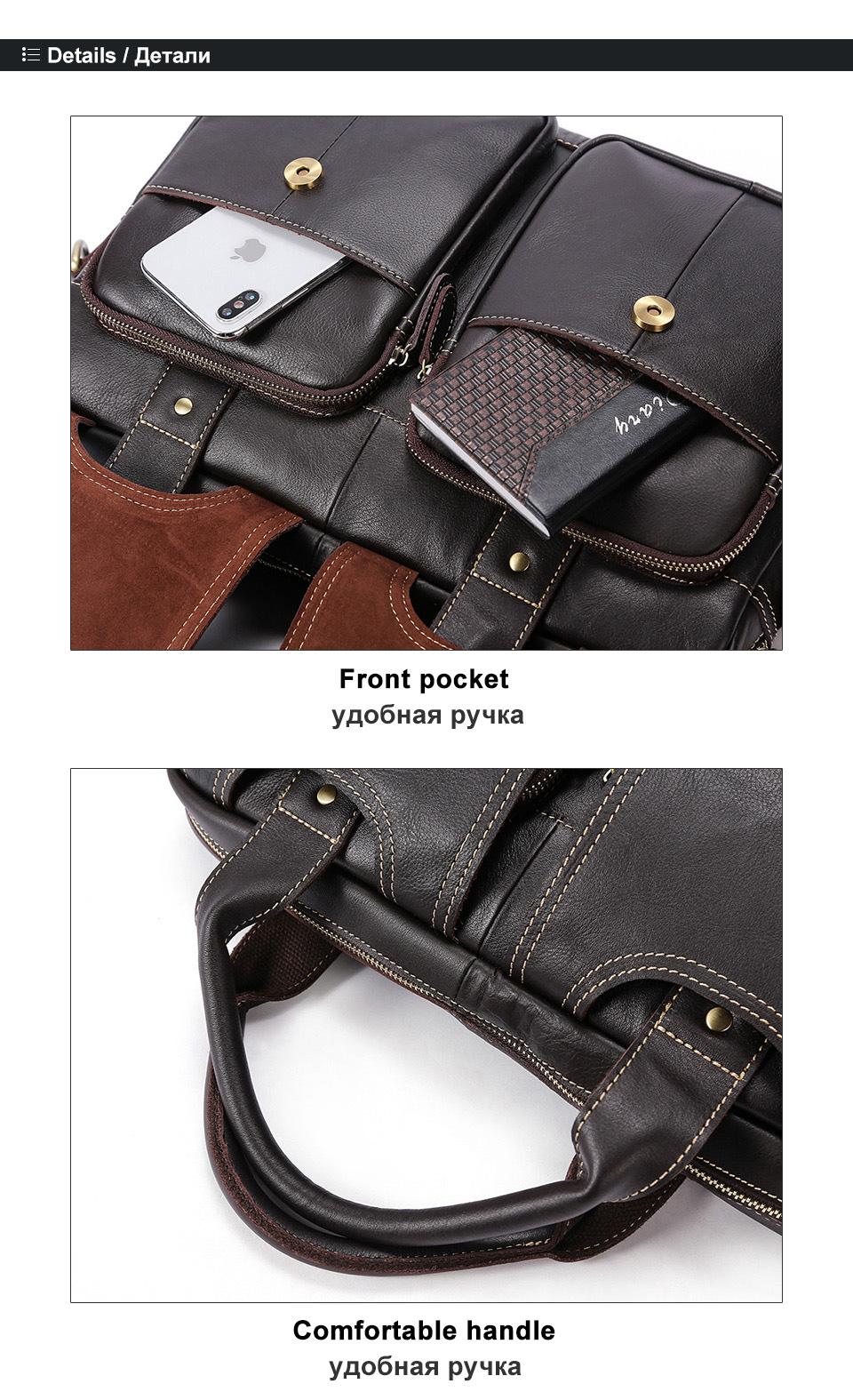men\`s leather bag