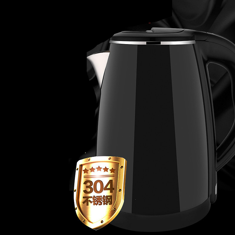 Electric kettle 304 stainless steel dormitory home cooking automatic power  Safety Auto-Off Function<br>
