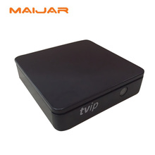 [Genuine] Original mini Set Top Box of TVIP box Linux or Android 4.4 Double System support H.265 1920x1080 quad core tvip 412