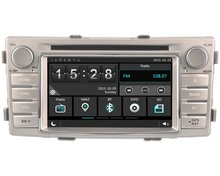 FOR TOYOTA HILUX 2012 CAR DVD Player car stereo car audio head unit Capacitive Touch Screen SWC DVR car multimedia