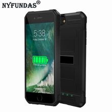NYFundas Battery Charger Case For iPhone 6s Rechargeable Power Bank 3000mah Armor Back Cover Cases For iPhone 7 6 s 4.7inch