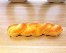 New Cute 19 cm Fried Dough Twists bread squishy charm / mobile phone strap / Retail(China)