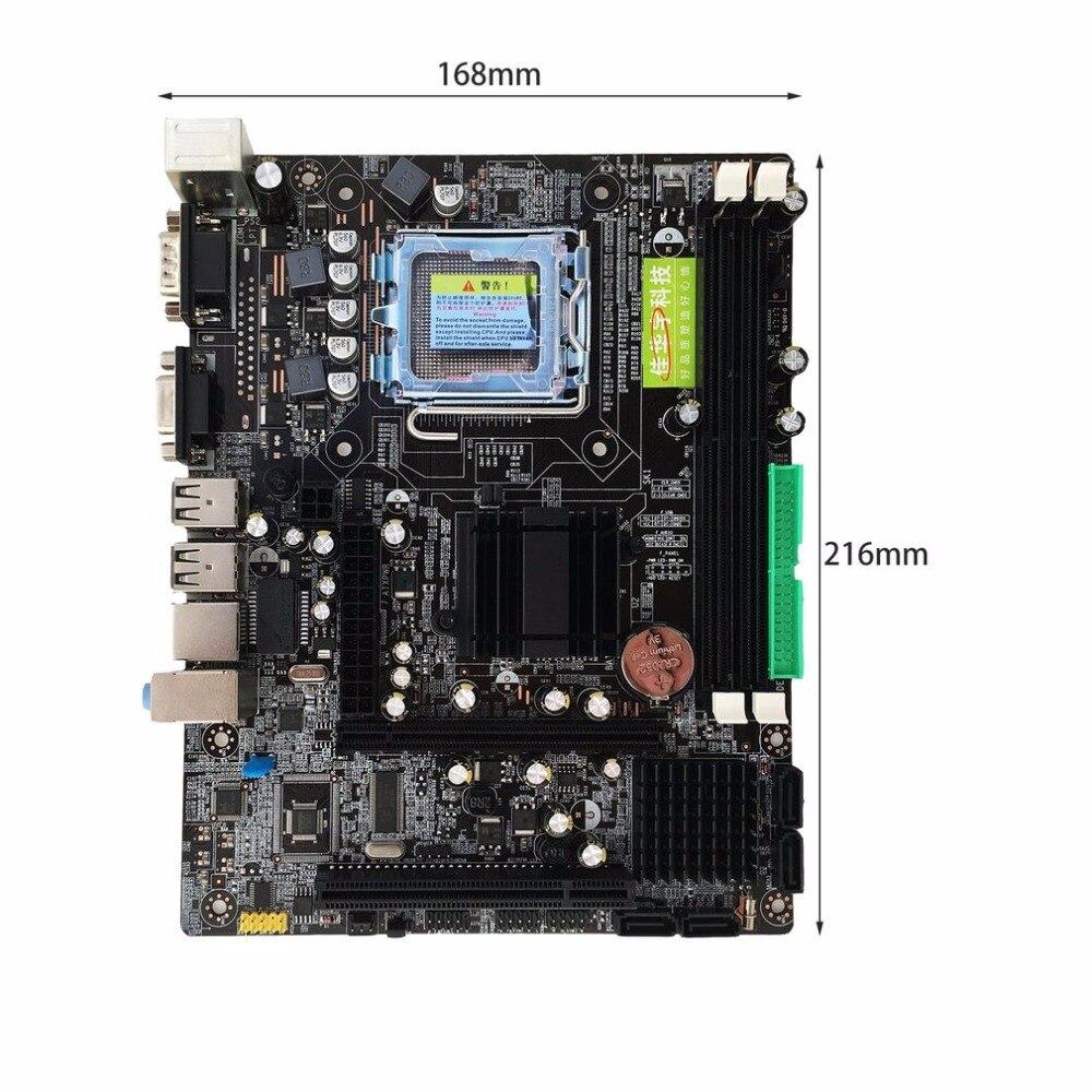 Интернет магазин товары для всей семьи HTB1bMSqDKuSBuNjy1Xcq6AYjFXav Профессиональный 945 материнской 945GC + ICH Чипсет Поддержка LGA 775 FSB533 800 мГц SATA2 Порты двухканальный DDR2 памяти