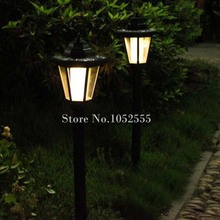 12PCS LED Solar Powered Floor Lamp 65cm Energy-Saving Outdoor Solar Lights Garden Yard Decro Solar Lawn Ground Lamp Wall Lamps(China)