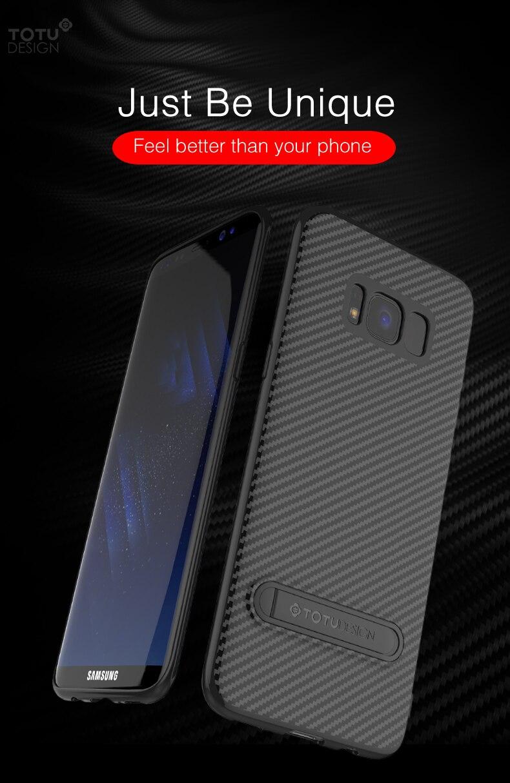 Totu Kasus Telepon Untuk Samsung Galaxy S8 Plus Coque Karbon Design Soft Series Tpu Case Ultra Thin Clear Transparan Deskripsi Produk