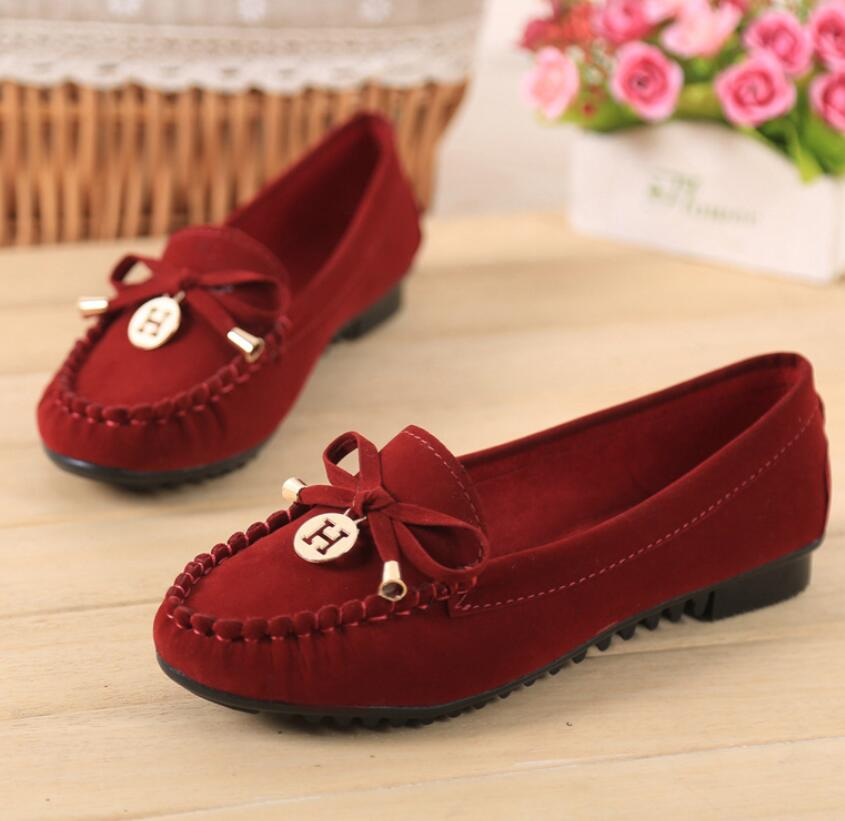 2017 fashion bowknot spring women ballet flats shoes ladies shoes slip on flats women Moccasins flat shoes women loafers B420<br><br>Aliexpress