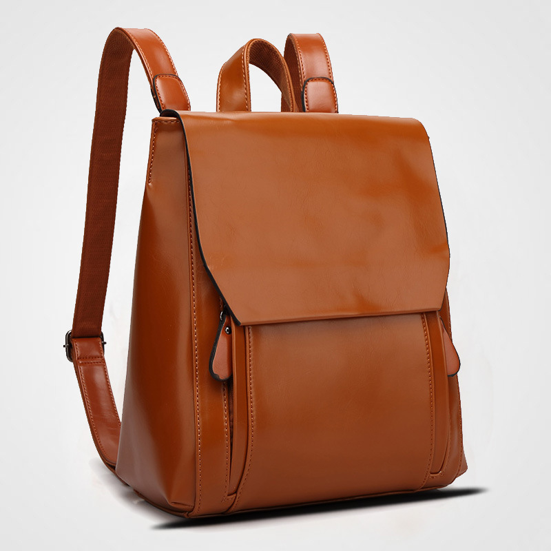 Brand women backpack small female  PU split backpacks for teenage girls female backpacks large capacity shoulder bags<br>