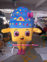 High quality cute cartoon mascot costume mascot costume/ice cream advertisement mascot costume show