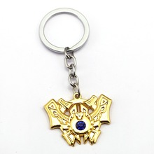 Buy Hot Game LOL Keychain Legends Key Chain League 2017 7 Rank Key Ring Holder Pendant Chaveiro Jewelry Souvenir for $1.54 in AliExpress store