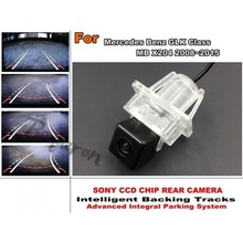 For Mercedes Benz GLK MB X204 2008~2015 Smart Backing Tracks Camera / imports HD CCD Night Vision / Rear View Reverse Camera(China)
