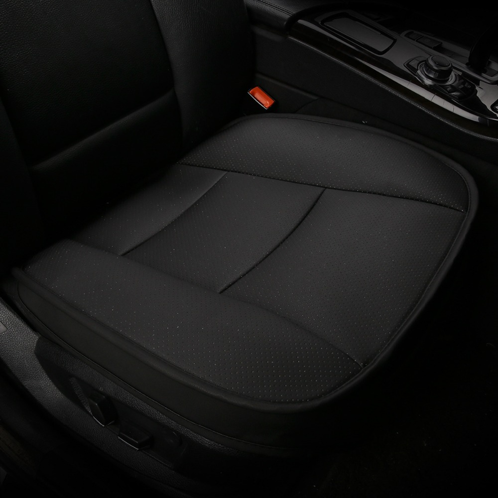 2012-2015 Merceds Benz ML-Driver Side Bottom PERFORATED Leather Seat Cover Black