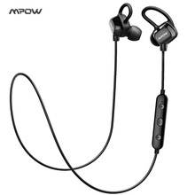 Mpow headphone IPX4-rated sweatproof stereo bluetooth headphones wireless sports earphones with MIC for iPhone Android Phone(China)