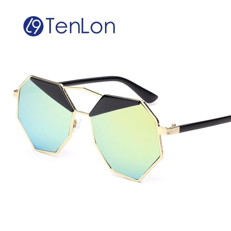 TenLon Glasses Fashion Hexagon Women Sunglasses Classic Brand Designer Party Style UV40 womens Sunglasses oculos gafas de sol<br><br>Aliexpress