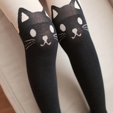 Buy Beautiful Lovely Design Stockings Womens Pantyhose Cat Rabbit Sexy Slim Tights Thigh High Hosiery Knee Silk Stockings