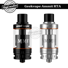 Original Geekvape Ammit RTA Atomizer 3.5ml single coil top filling system electronic cigarette vaporizer Ammit RDTA tank
