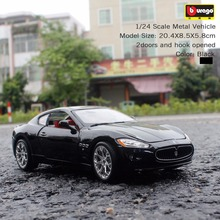 Bburago GranTurism 1:24 scales diecast model metal alloy original car collection for children birthday gift(China)